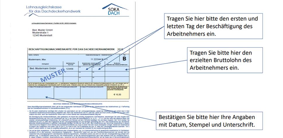 Lohnabrechnung Dokumente Fur Arbeitgeber Arbeitnehmer 9